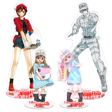 Hataraku Saibou Cells At Work Toy Height 21cm Anime Action Figure Toy Acrylic Decorative Ornaments Gift cells at work 1