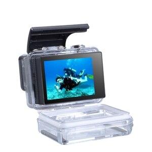 Image 5 - Tela de exibição para gopro 4 3 +, acessórios para gopro, display externo com bacpac, capa à prova dágua, proteção para go pro hero 4 3 + montagem