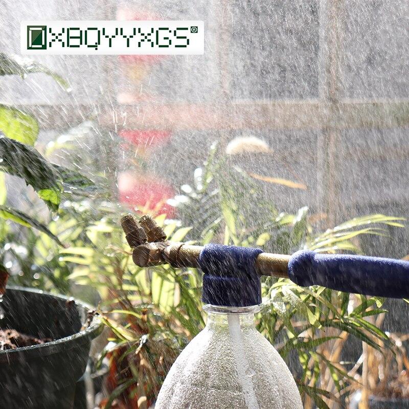 Kolben Kopf Messing Sprayer Gun Hand Druck Sprayer für Garten Bewässerung Garten Koks Flasche Pestizid Bewässerung Werkzeuge