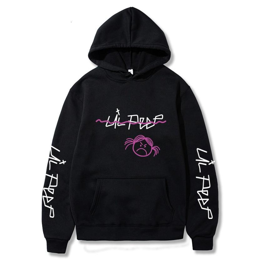 Lil Peep Hoodies Love Lil.peep Men Sweatshirts Hooded Pullover Sweatershirts Male/Women Sudaderas Cry Baby Streetwear Hoodie Men