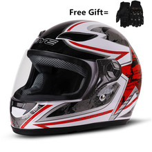 red Motorcross Helmet Motorcycle Helmet Moto Casco Men Full Face Helmet Motocross Racing Motorbike Dirt Bike Downhill Helmet