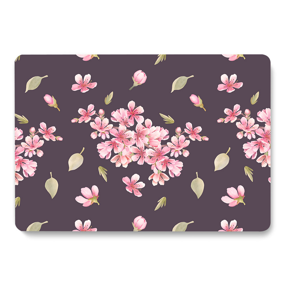 Flowers Pattern Case for MacBook 9