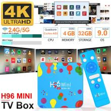 Android 9.0 TV Box H96 MINI Rockchip RK3318 4K Smart TV Box 2.4G&5G Wifi BT4.0 H96Max 4GB 32GB Media Player Android Set Top Box 2019 best stable media player smart tv box netflix youtube h96max max rk3318 android tv box 2 4 5 0g wifi h 265 tv set top box