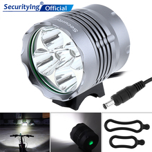 SecurityIng Headlight Bicycle Flashlight High Power 3000LM 5 x XM-L T6 LED Bicycle Light with 3 Modes