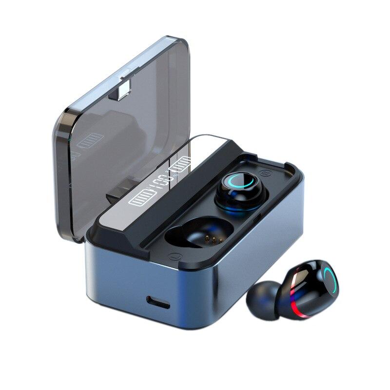 TWS Bluetooth casque 5.1 sans fil Binaural affichage numérique sport étanche casque boîte de charge 1700 MAh G09