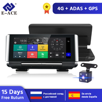 E ACE E01 Car DVR GPS 4G Navigation Tracker 7 Android DVR Car Camera WIFI 1080P ADAS Video Recorder For Car Tourism Navigators