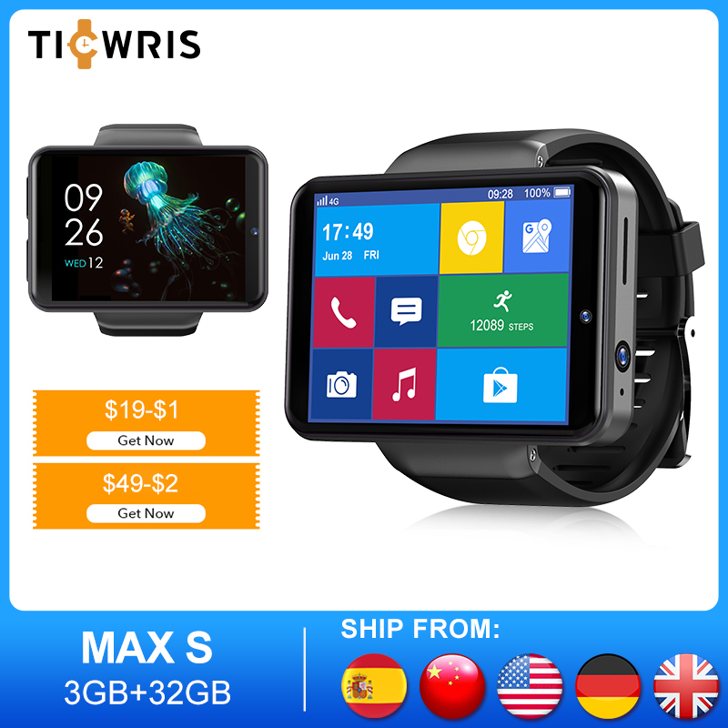 Permalink to Smartwatch Ticwris MAX S Smart Watch Men Camera Bluetooth Watches Fitness Tracker Wristwatch Bracelet For Xiaomi Apple Android