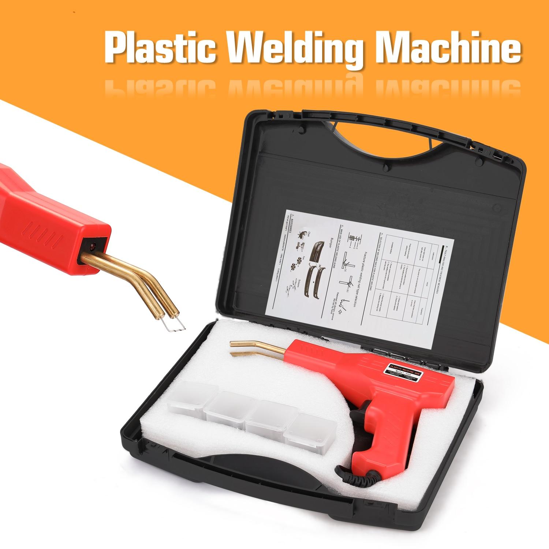 Plastic Welder Garage Tools Handy Hot Staplers Machine PVC Plastic Repairing Machine Car Bumper Repairing Tools