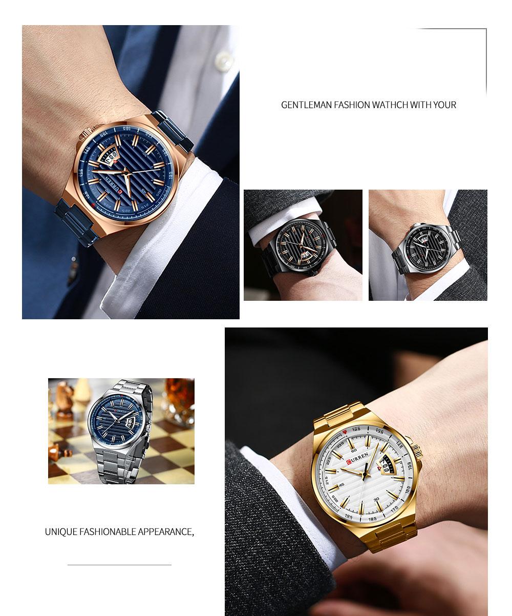 esporte negócios relógios quartzo à prova dwaterproof