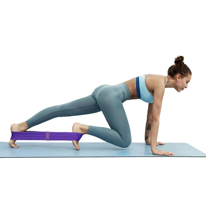 1pcs Sports Women Yoga Band Fitness shape Fabric Resistance Bands ...