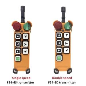 Image 3 - Industrial Crane Wireless Remote Control F24 6S F24 6D for Hoist Crane 1 Transmitter 1 Receiver