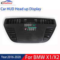 XINSCNUO Car Electronics Car HUD Head Up Display For BMW X1/X2 2016 2017 2018 2019 2020 Head up Display Speedometer Projector