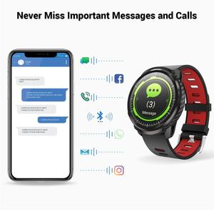 TagoBee L3 Full Touch Смарт-часы фитнес-трекеры для мужчин и женщин Шагомер монитор сердечного ритма во время сна IP67 Водонепроницаемый iOS Android