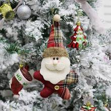 Get more info on the Christmas Cartoon Pendant Xmas Santa Claus Elk Snowman Hanging Dolls Ornaments Christmas Tree Party Home Wall Tree Decoration CM