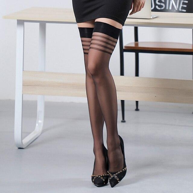 BIG SALE 3 Pairs Sheer Sexy Stockings #S1212 4