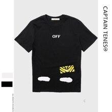 цена на Basic T-shirt WHITE Short Sleeve T-shirt Slash Striped Short Sleeve T-shirt Bottom Shirt for Men