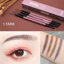 NOVO Thin eyebrow pencil 4 Color Flexible micro-carving Natural fiber eyebrow la