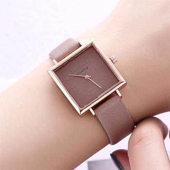 Fashion Simple rectangular Watch
