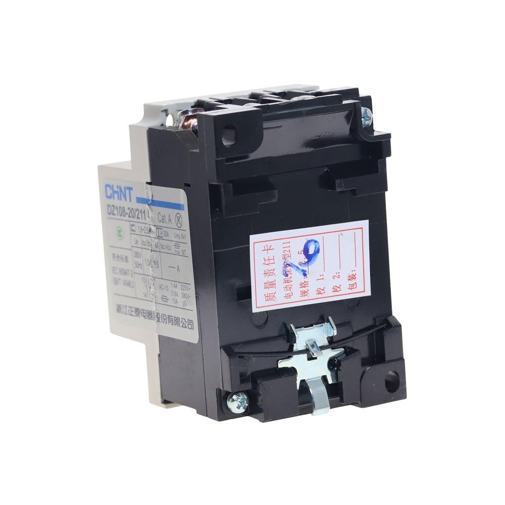 DZ108-20 3VE1 1.6-2.5A 3 Pole Moulded Case Circuit Breaker New