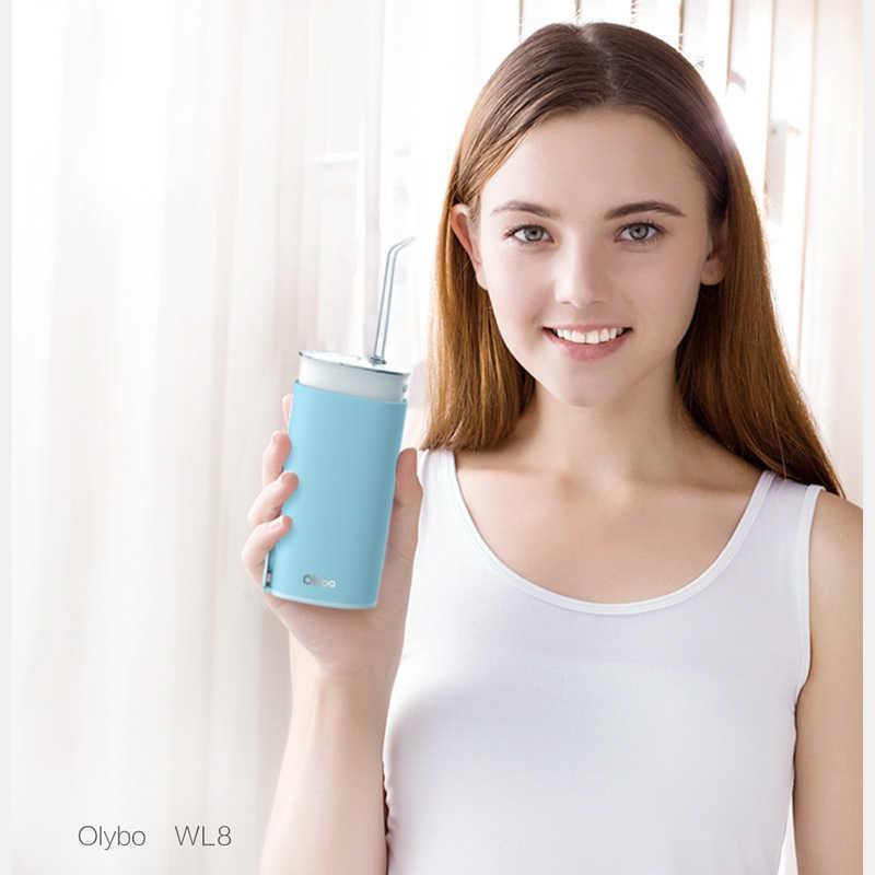 Xiaomi olibo портативный ирригатор для полости рта USB Перезаряжаемый водный Стоматологический Ирригатор для чистки зубов струя воды зубочистка