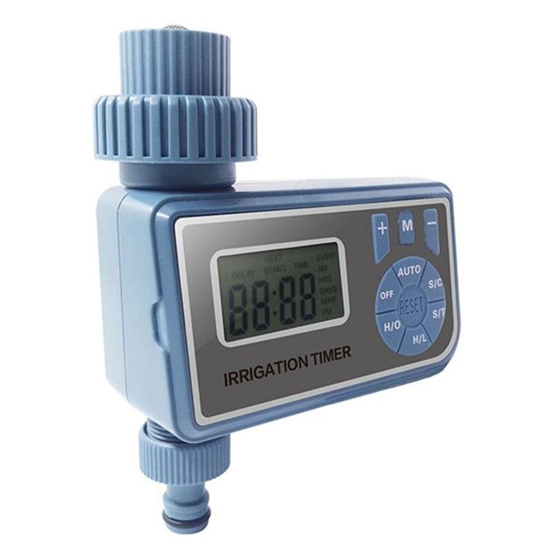 Ev ve Bahçe'ten Bahçe Su Sayaçları'de Otomatik elektronik akıllı dijital su zamanlayıcı sulama kontrol sistemi bahçe sulama zamanlayıcı otomatik sulama zamanlayıcı title=