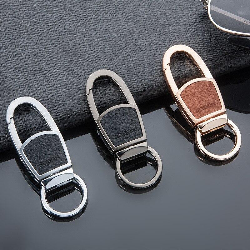 Auto Men Metal Keyring Upscale Car Keychain Pendant High-end Gift For Audi Mazda Harley Ferrari Volvo BMW Toyota Honda Fiat Ford