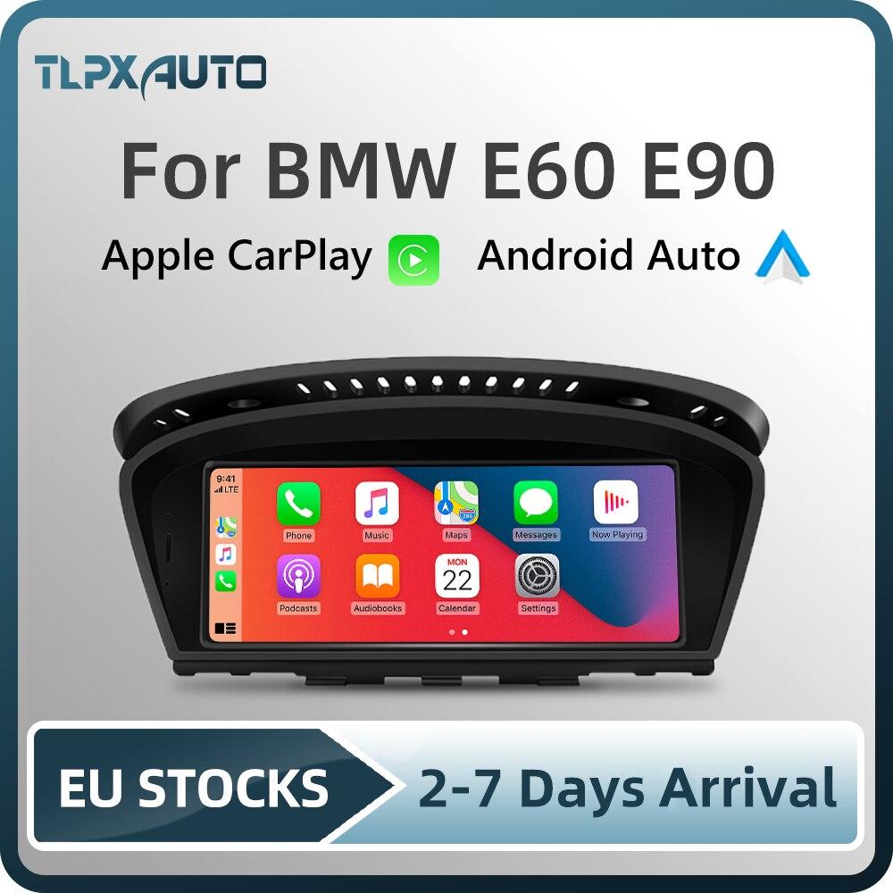 Автомагнитола Apple CarPlay, 8,8 дюйма, Android, для BMW E60 E90(2003-2012)