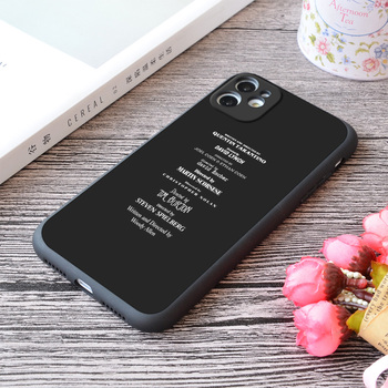 For iPhone Filmmakers Print Soft Matt Apple iPhone Case image