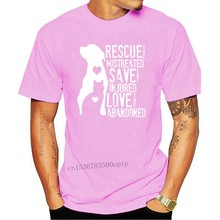 Rescue Save Love Animal Dog Lover - Mistreated Injured Vintage Tagless Tee T-Shirt