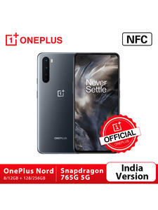 Oneplus Snapdragon 765G Nord 128GB/256GB 5G/GSM/WCDMA/LTE Nfc Dash Charge Octa Core In-Screen fingerprint recognition