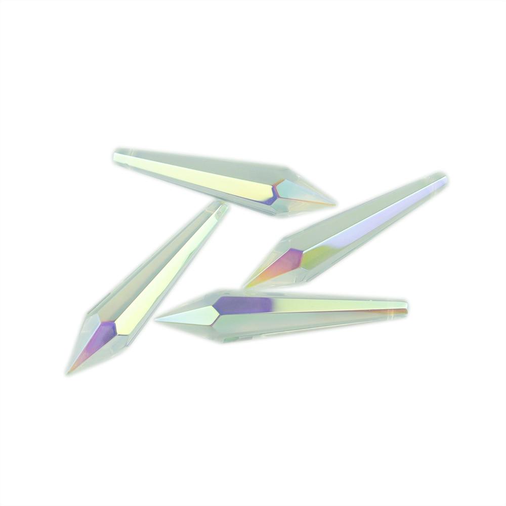 38mm / 63mm / 76mm AB Kristall Eiszapfen U Tropfen Kristall - Leuchten Zubehör - Foto 4