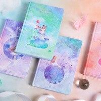 Caderno da estrela dos sonhos a5  coloração criativa  página da ilustração  desenho à mão  bloco de notas  diário  coreia  materiais de papelaria