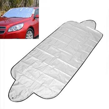 Cubierta de parabrisas de coche LEEPEE, Protector contra el polvo antinieve, escudo contra el hielo, cubierta solar para coche, pantalla frontal para ventana, pantalla para parabrisas de coche