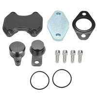 Cab & chassis cummins d iesel egr eliminar kit para dodge ram 3500 4500 6.7l 2013 2018|Válvulas e peças| |  -