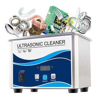 650ml Household Digital Ultrasonic Cleaner 50W for Cleaning Jewelry Eyeglasses K1AD