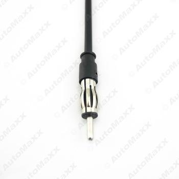 Uniwersalne Radio samochodowe głowy z linii anteny radiowej złącze męskie Adapter głowica radia samochodowego tanie i dobre opinie Leewa 2620 Radio Head with Line
