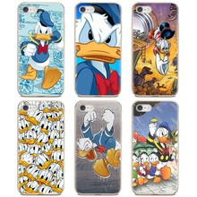 Untuk Samsung Galaxy A10 A30 A40 A50 A60 A70 S6 Aktif Catatan 10 Plus Edge M30 Kartun Super Donald Duck seni Membeli Silikon(China)