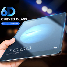 Tempered Glass For Huawei MediaPad T1 7.0 8.0 10 701U S8-701U S8-701W T1-821W T1-A21W T1-A21L A23L Curved Edge Screen Protector