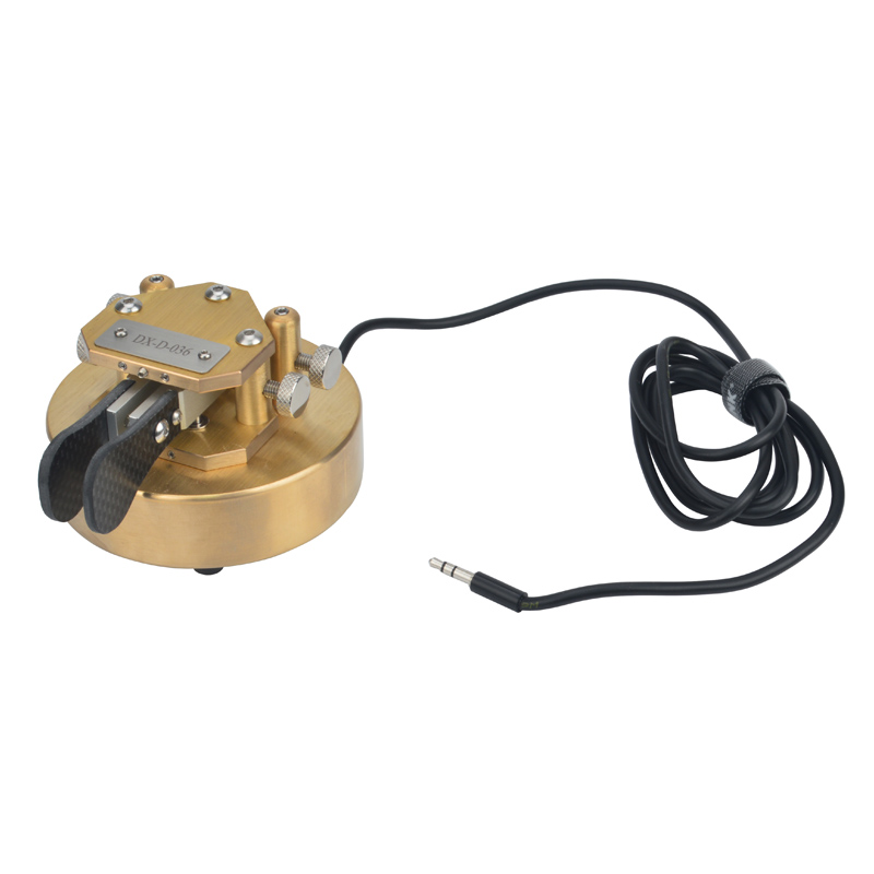 Morse Code CW Magnetic Iambic Key Double Paddles HF Transceiver Ham Radio Magnetic Return Iambic Key 100% Pure Copper