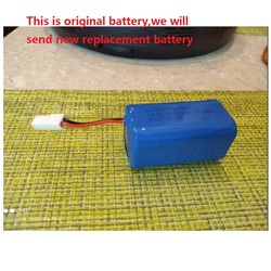 New Battery for Puppyoo WP 650 Robot Vacuum Cleaner Sweeper Li-Ion Rechargeable Replacement 14.8V