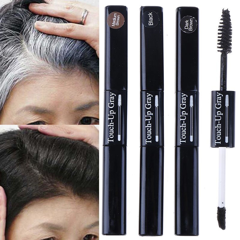 3 Colors DIY Hair Color Wax Mascara Dye Cream Sevich Factory Sell Temporary Hair Dye 2 In 1 Applicator Hair Color Brush And Comb