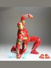 Marvel Legends Avengers Infinity War Iron Man 6 Action Figure MK46 Loose Super Hero Figure Props цена