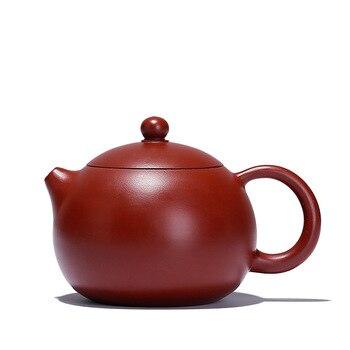 Big Red Pouch Mud Mini Xishi Pot Yixing Purply Clay Teapot Chinese Kongfu Tea Pots 150ml Teaware