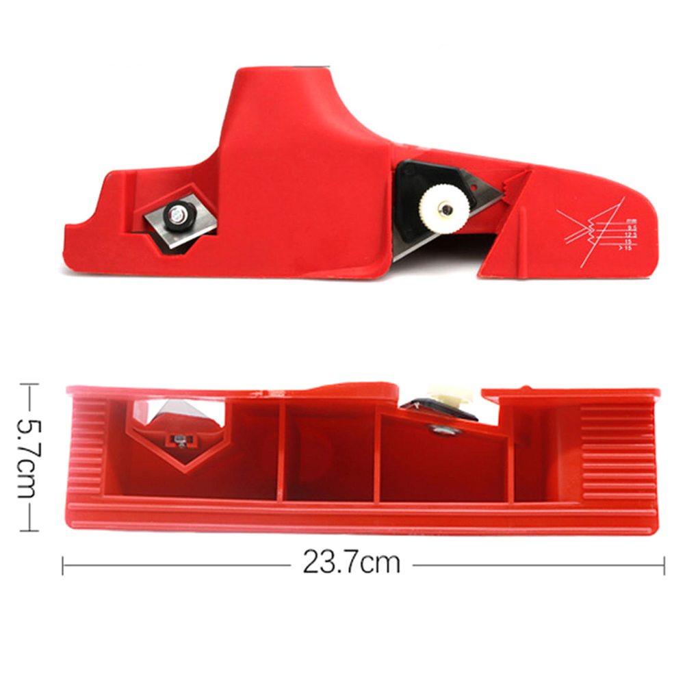Gypsum Board Cement Plate Trimming Tools Kit Plastic Carbide Adjustable Planer  For Edge Planing Machine Plasterboard Edging