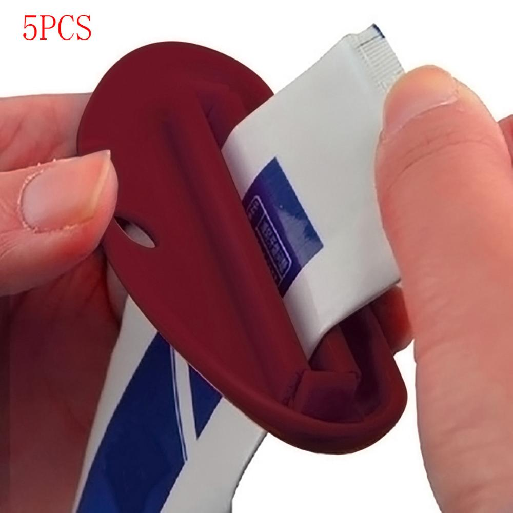 5PCS Multi-purpose Creative Squeeze Lips Toothpaste Dispenser Extruder Dropshipping Bathroom Accessories