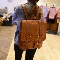 Backpacks For School Teenagers Girls Korea Pu Leather 2019 Autumn Travel College Bags