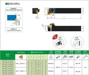 Image 4 - BEYOND Free Shipping DWLNR DWLNL DWLNR2525M08 DWLNR1616H08 External Lathe Turning Tool Holder Cutter Tools Holder CNC Boring Bar