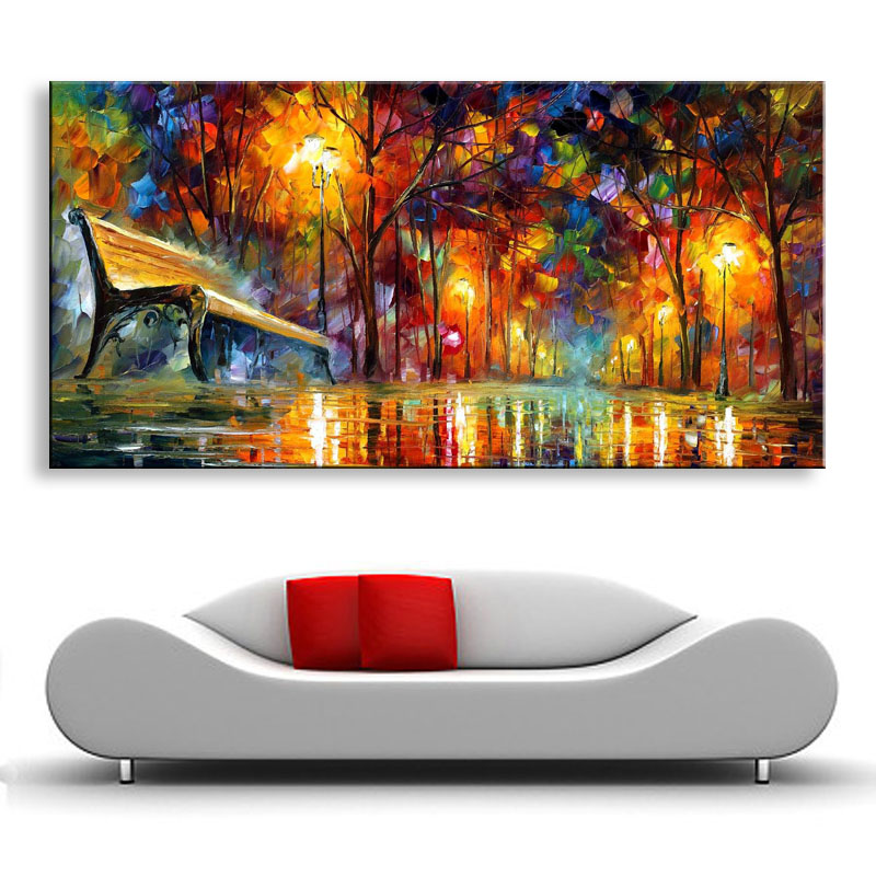 <font><b>Knife</b></font> painting oil painting modern the beach and the <font><b>boat</b></font> Home decoration on canvas abstract painting art paintings SS-003 image