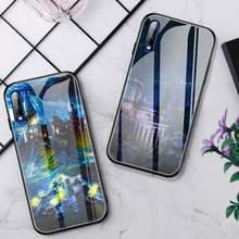 Funda de teléfono Magic Harry Potter, cristal para Huawei P30 Lite 20 Por P9 10 Honor 8X9 10 NOVA 5
