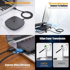 Image 2 - Essager USB na przedłużacz USB typ A z męskiego na męskie przedłużacz USB 3.0 do radiatora dysk twardy Webcom USB3.0 przedłużacz